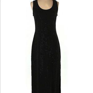 Boston Proper Black Maxi Dress Size X Small NWT